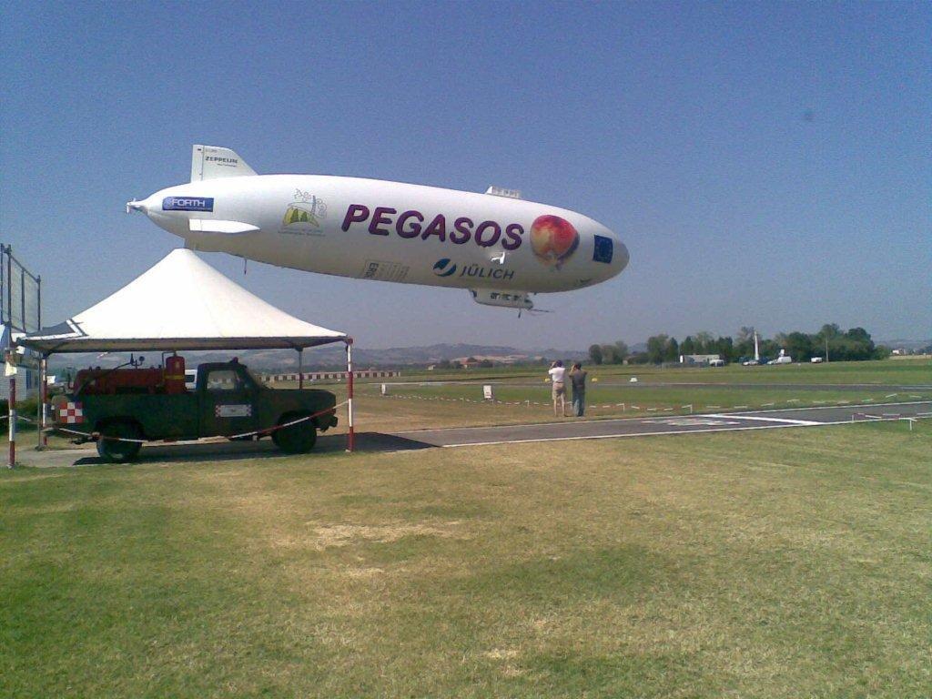il dirigibile Zeppelin nato con finalità scientifico-ambientali