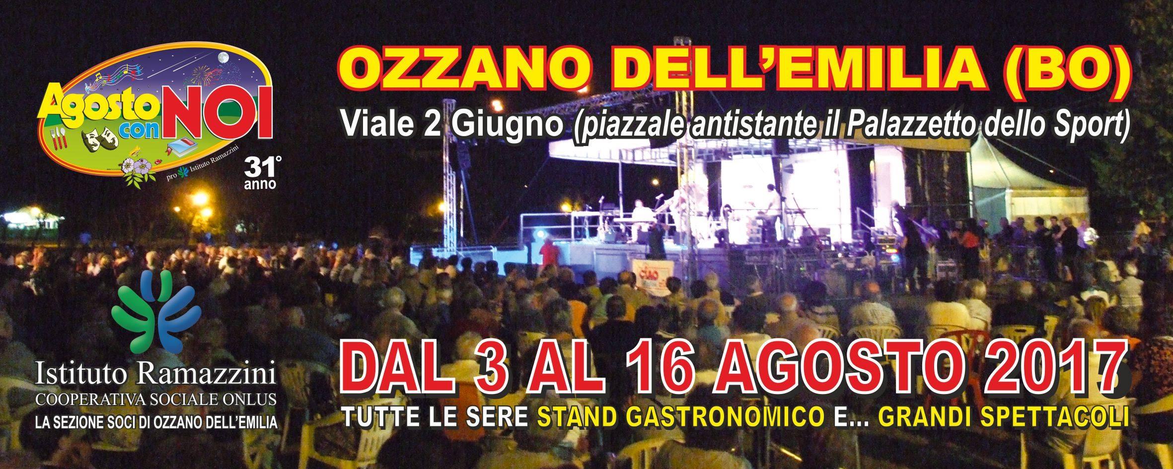 locandina Agosto con Noi edizione 2017