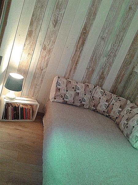 la camera singola con letto francese