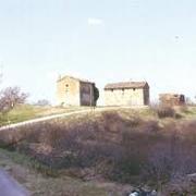 veduta invernale di Pieve di Pastino in località Settefonti
