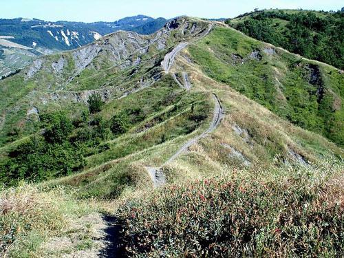 sentiero Flaminia Minor Ozzano dell'Emilia località Monte Armato Cà del Vento