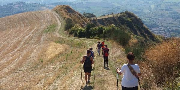 Tratto ozzanese del sentiero Cammino di Sant'Antonio