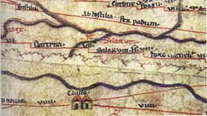 la Tavola Peutigeriana conservata ai Musei Vaticani (ROMA)