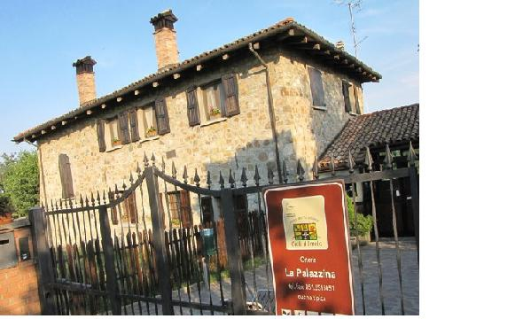 ingresso Osteria La Palazzina