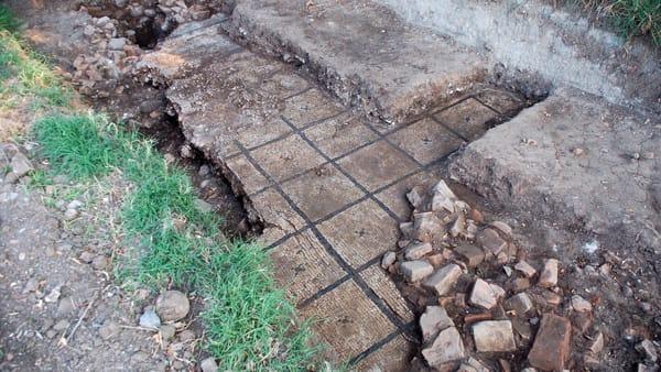Resti impianto termale (campagna di scavi 20218)